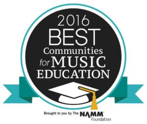 2016 Best Communities for Music Education - NAMM Foundation